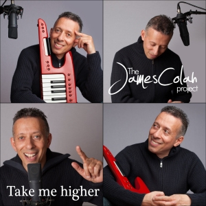 James Colah, Take me higher, Cover art - med-res